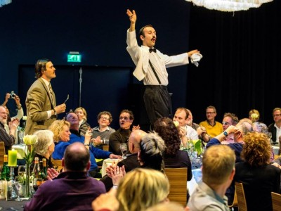 Anthony Sottile, Faulty Towers The Dining Experience, Fawlty Towers, Manuel