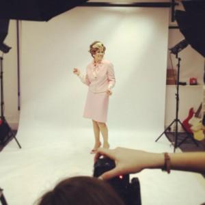 sybil backstage photo shoot donna gray fttde