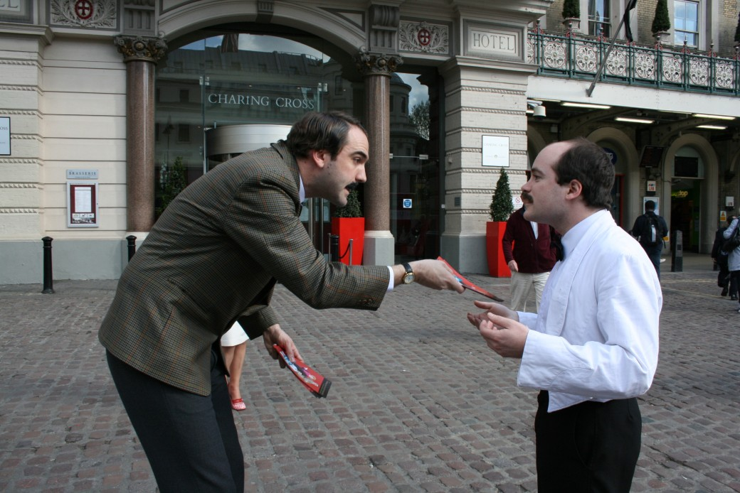 fawlty towers, basil fawlty, manuel, charing cross, strand